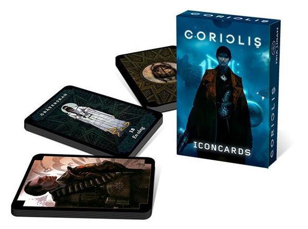 Jeu de cartes de Coriolis