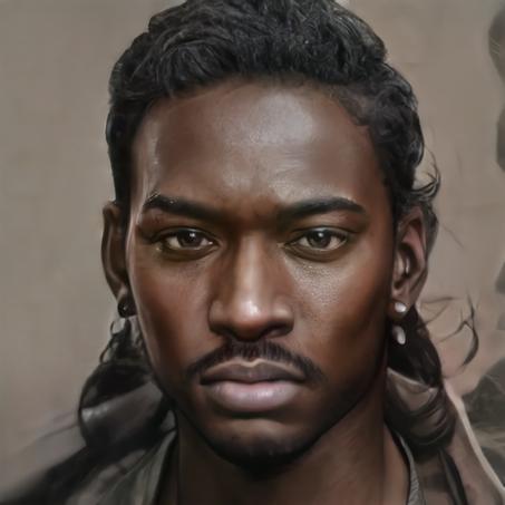 Portrait d'Isaiah